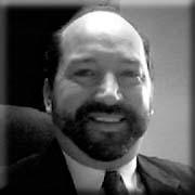 Steve Dougherty black and white headshot image