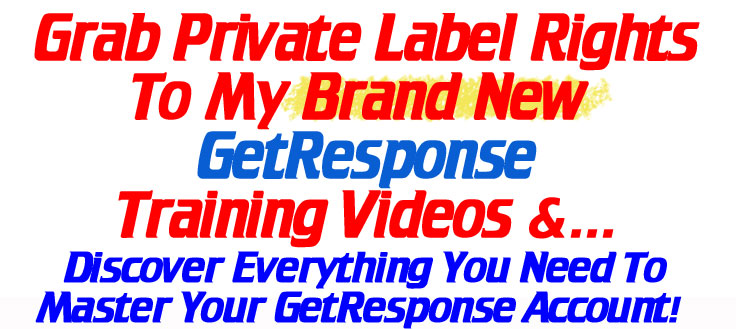 GetResponse Header Text image