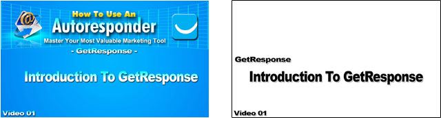 how to use an autoresponder getresponse edition mini splashscreen image